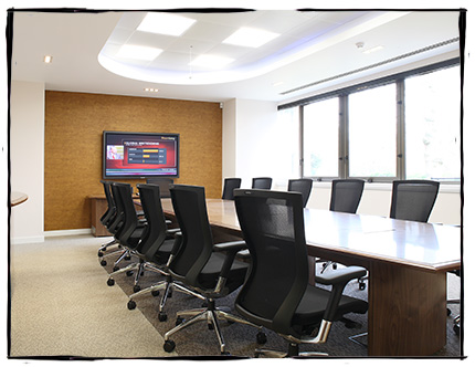 meeting room of UT UK